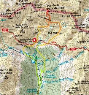mapa track